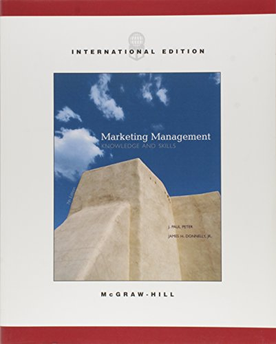 9780071215053: Marketing Management: Knowledge and Skills