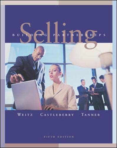 9780071215190: Selling: Building Partnerships (The Irwin/Mcgraw-Hill Series in Marketing)