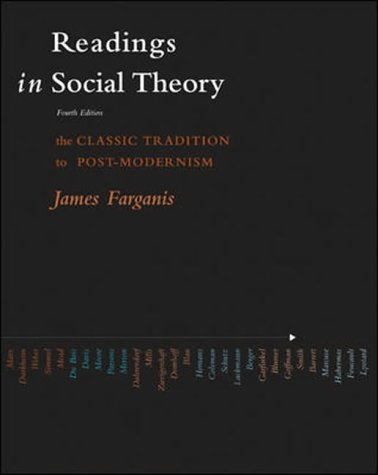 9780071215374: Readings in Social Theory