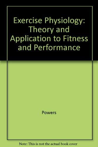 9780071215459: Exercise Physiology: Theory And Applications To Fitness And Performance