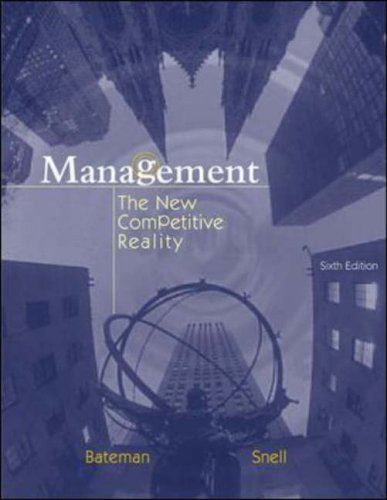 9780071215534: Management: With CD and PowerWeb: The New Competitive Landscape