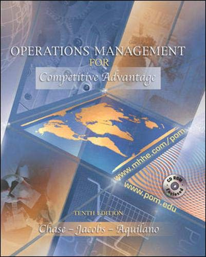 9780071215565: Operations Management for Competitive Advantage