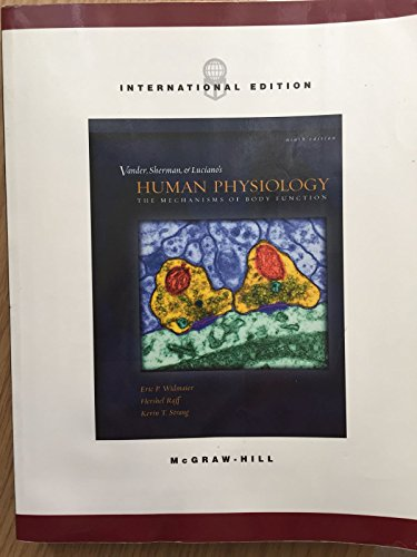 9780071215572: Human Physiology: The Mechanisms of Body Function