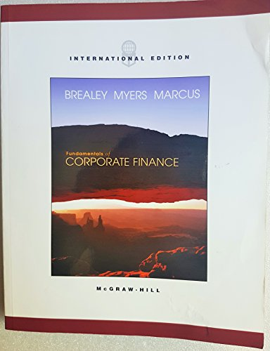 9780071215589: Fundamentals of Corporate Finance (McGraw-Hill/Irwin Series in Finance, Insurance, and Real Estate)