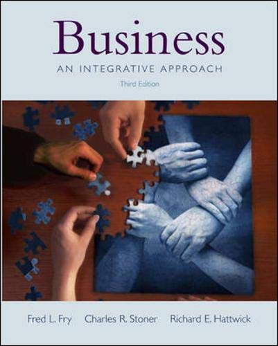 9780071215701: Business: With Student CD and PowerWeb: An Integrative Approach