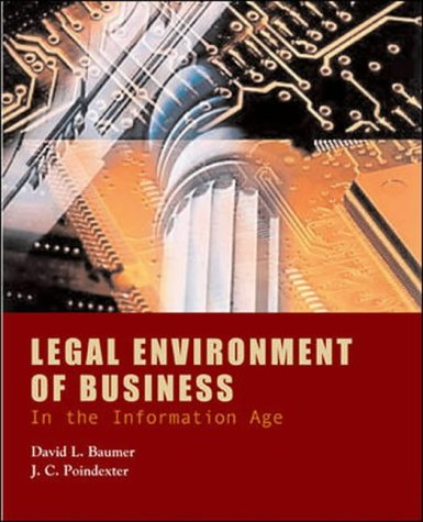 9780071215862: Legal Environment of Business in the Information Age