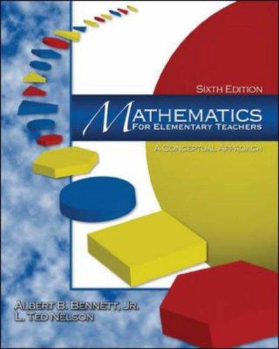 9780071215879: Mathematics for Elementary Teachers: A Conceptual Approach