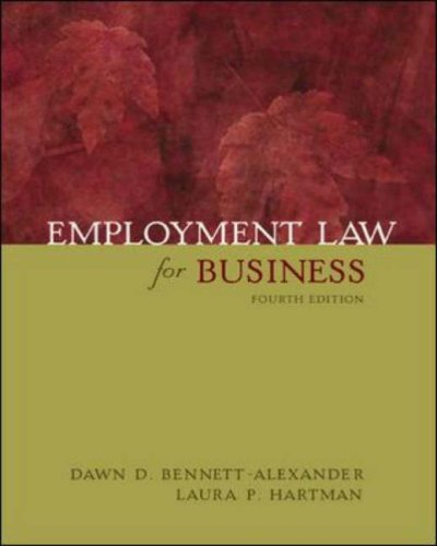 9780071215886: Employment Law for Business