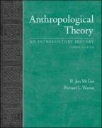 9780071216203: Anthropological Theory: An Introduction History. R. Jon McGee, Richard L. Warms