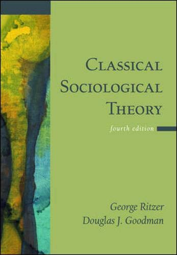 9780071216296: Classical Sociological Theory