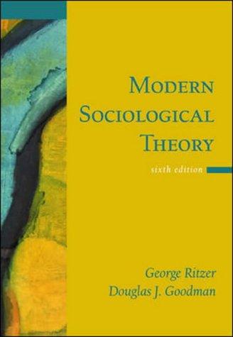 9780071216302: Modern Sociological Theory