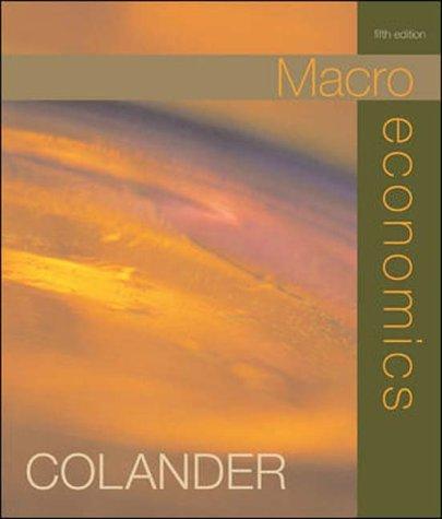 9780071216500: Macroeconomics