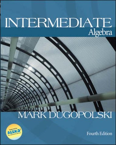 9780071216548: Intermediate Algebra