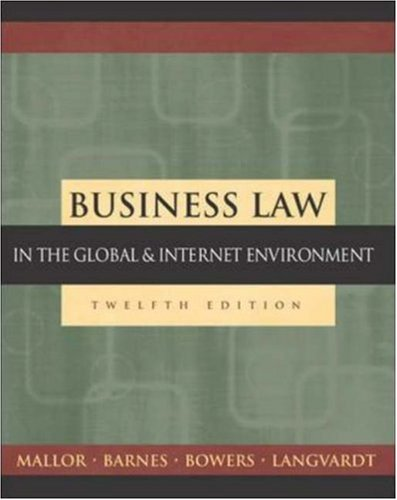 9780071216777: Business Law: The Ethical, Global, and E-Commerce Environment with PowerWeb and Student DVD