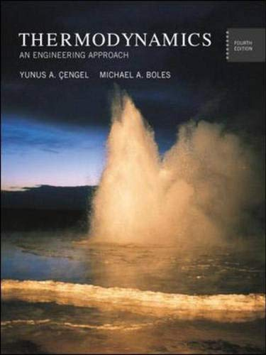 9780071216890: Thermodynamics: With Version 1.2 CD ROM: An Engineering Approach