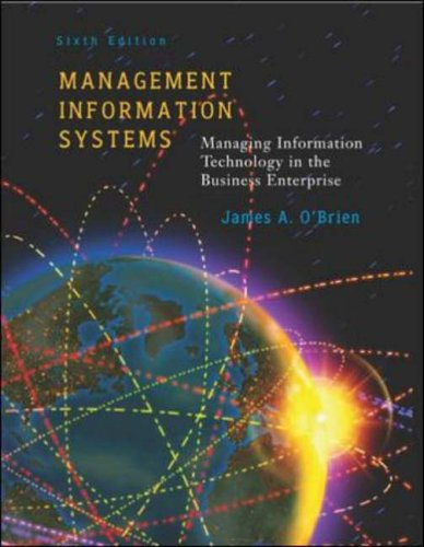 9780071217118: Management Information Systems