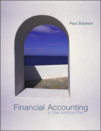 9780071217187: Financial Accounting: WITH NetTutor AND PowerWeb Mandatory Package: A New Perspective