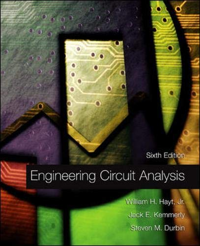 9780071217293: Engineering Circuit Analysis: WITH Replacement CD-Rom (McGraw-Hill Series in Electrical and Computer Engineering)