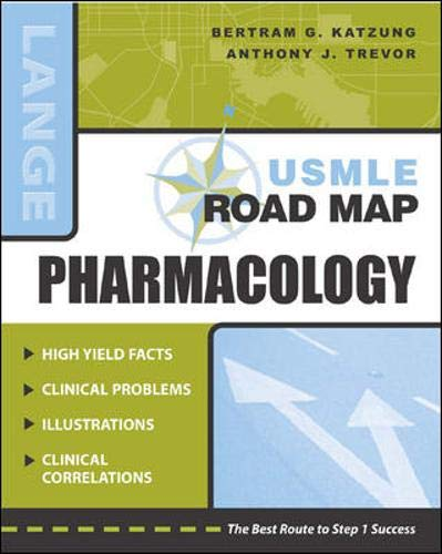 9780071217750: USMLE Road Map: Pharmacology (stm45)