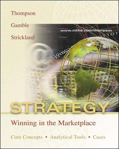 9780071217798: Strategy: With PowerWeb and Case-TUTOR Download Card: Winning in the Marketplace - Core Concepts, Analytical Tools, Cases