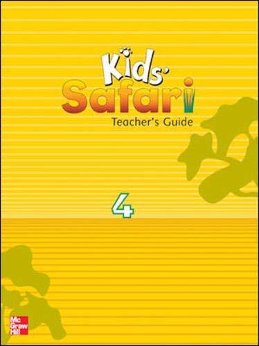 9780071217910: KIDS' SAFARI TEACHER'S GUIDE 4: Level 4