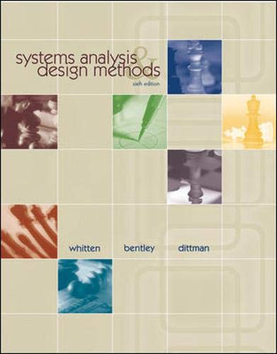9780071218313: Systems Analysis and Design Methods: With Project Cases CD
