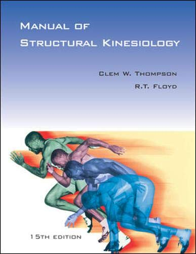 9780071218382: Manual of Structural Kinesiology: With PowerWeb / OLC Bind-in Passcard