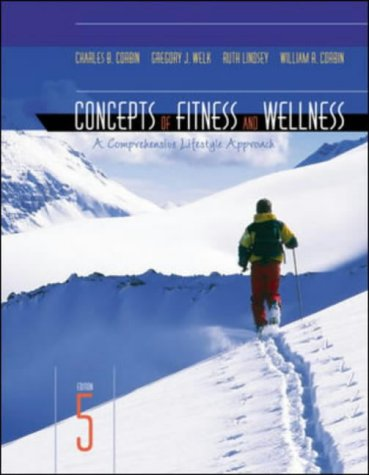 9780071218870: Concepts of Fitness and Wellness: A Comprehensive Lifestyle Approach