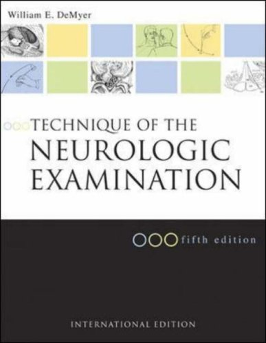 9780071219075: Technique of the Neurologic Examination: A Programmed Text