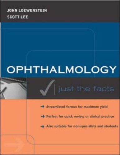 9780071219082: Ophthalmology: Just the Facts