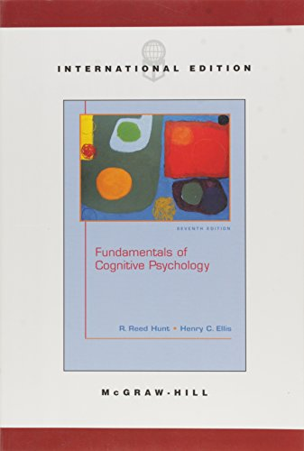 9780071219167: Fundamentals of Cognitive Psychology