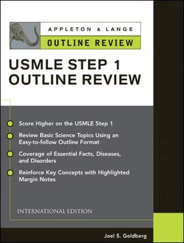 9780071219297: Appleton & Lange Outline Review: Usmle Step 1