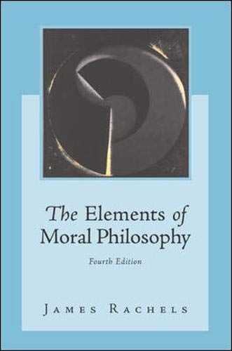 9780071219327: The Elements of Moral Philosophy with Dictionary of Philosophical Terms