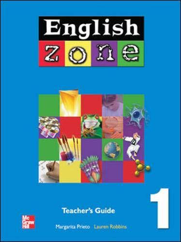 9780071219471: ENGLISH ZONE TEACHER'S EDITION 1: Teacher's Guide Bk. 1