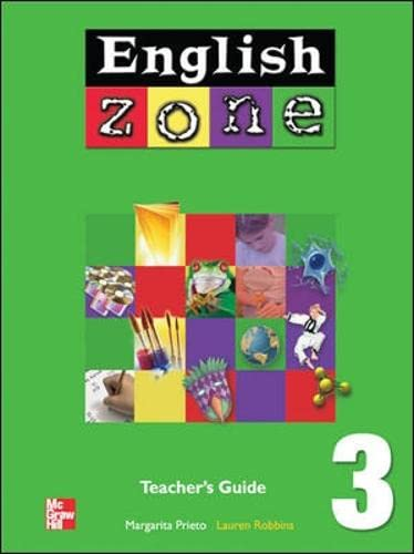 9780071219495: English Zone: Teacher's Guide Book 3 (College Ie Overruns) (Bk. 3)