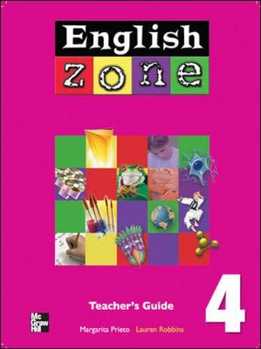 9780071219501: English Zone: Teacher's Guide Bk. 4