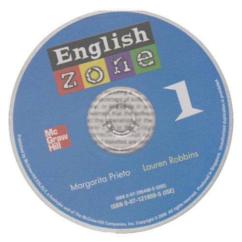 9780071219594: ENGLISH ZONE AUDIO CD 1