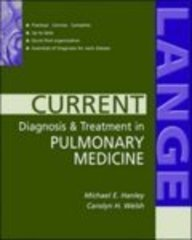 9780071219716: Current Diagnosis and Treatment in Pulmonary Medicine