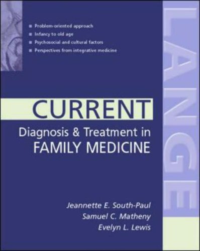 9780071219785: CURRENT Diagnosis & Treatment in Family Medicine