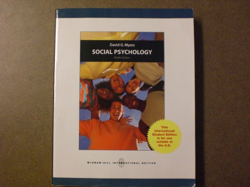 9780071220002: Social Psychology