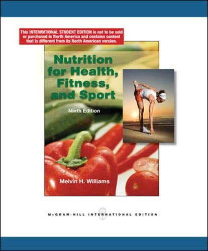 9780071220019: Nutrition for Health, Fitness and Sport