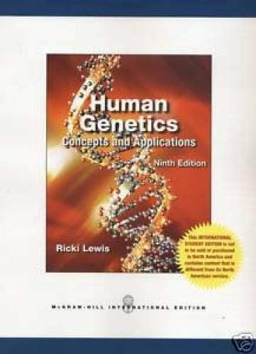 9780071220040: Human Genetics