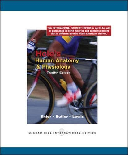 9780071220095: Hole's Human Anatomy and Physiology