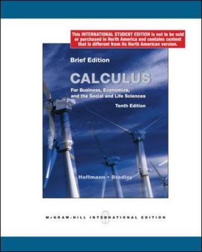 9780071220248: Calculus for Business, Economics, and the Social and Life Sciences, Brief 10/e MP