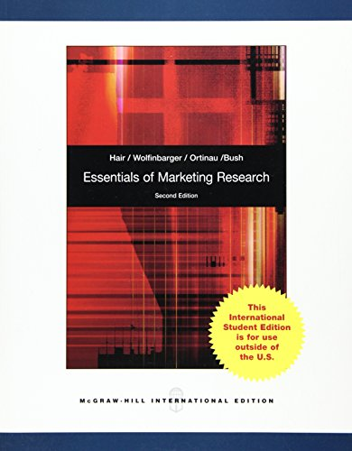 9780071220286: Essentials of Marketing Research