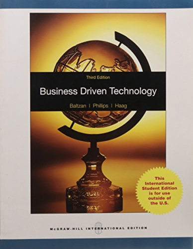 9780071220293: Business Driven Technology