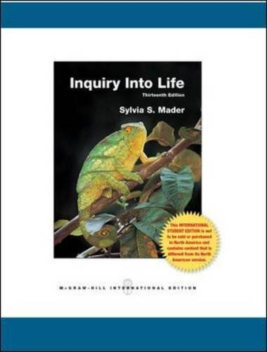 9780071220385: Inquiry into Life