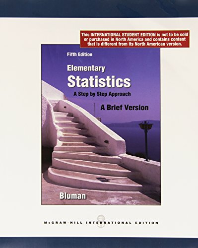 9780071220446: Elementary Statistics: A Brief Version
