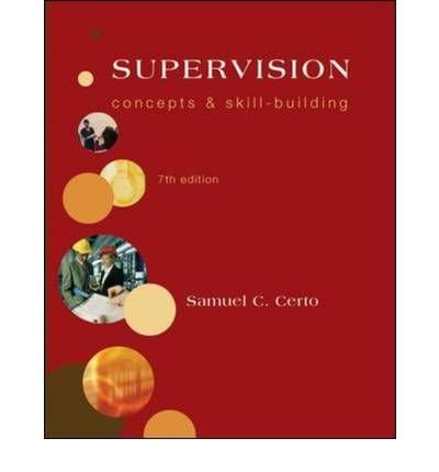 9780071220453: Supervision: Concepts and Skill-Building