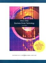 9780071220545: Business Driven Technology